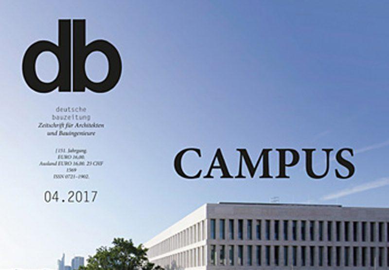 Martin Wilhelm publiziert in der db zum Thema Campus