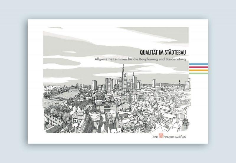 Broschüre zu Leitlinien für Qualität im Städtebau von bb22 gestaltet