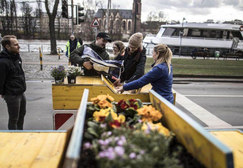 Urbane Intervention am nördlichen Mainufer – Aufenthaltsqualitäten
