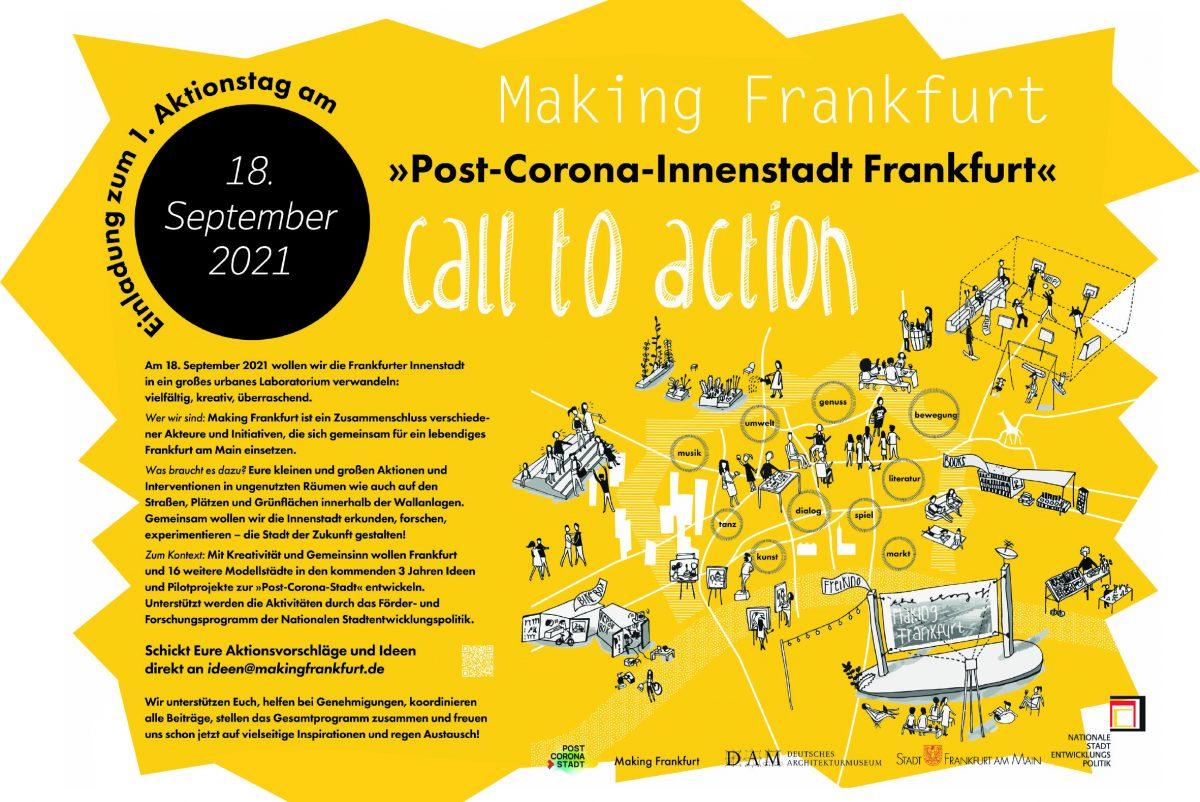Making Frankfurt und die Post-Corona-Innenstadt
